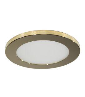 7W LED Iebūvējamā lampa LC1452 Gold Ø9.5 IP44 YLD-021994