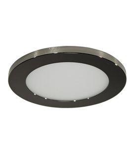 7W LED Iebūvējamā lampa LC1452 Black Ø9.5 IP44 YLD-017577