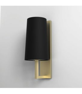 Sienas lampa RIVA 350 Black/Gold IP44 1214008B