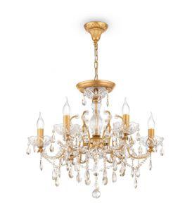 Piekarama lampa SEVILLA 6 Gold DIA004-06-G