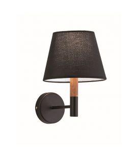 Sienas lampa VILLY Black 4167901