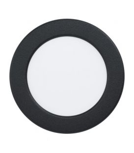 5.5W LED Iebūvējams LED panelis FUEVA Black Ø11.7 3000K 99143