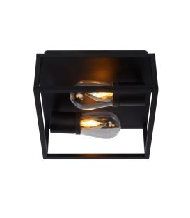 Griestu lampa CARLYN Black IP54 27100/02/30