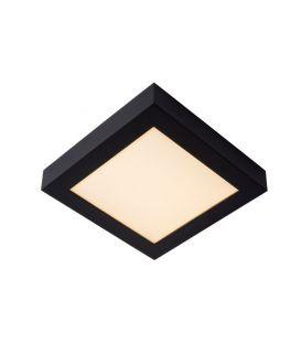 22W LED Griestu lampa BRICE Black IP44 Dimmējama 28117/22/30