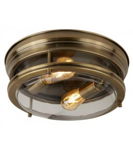 Griestu lampa EDINBURGH Brass IP44 5182AB