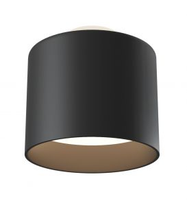 12W LED Griestu lampa PLANET Black Ø10 C009CW-L12B