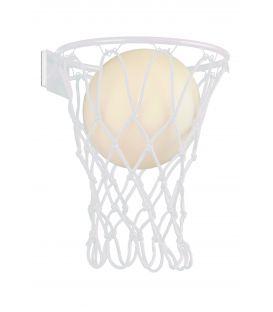 Sienas lampa BASKETBALL White 7242