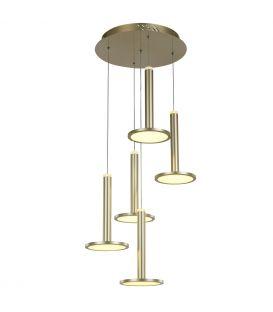 60W LED Piekarama lampa OLIVER Dimmējama MD17033012-5A GOLD