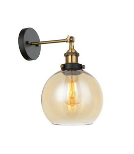 Sienas lampa CARDENA Amber MBM-4330/1 GD+AMB
