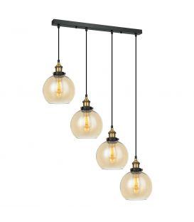 Piekarama lampa CARDENA 4 Amber MDM-4330/4 GD+AMB