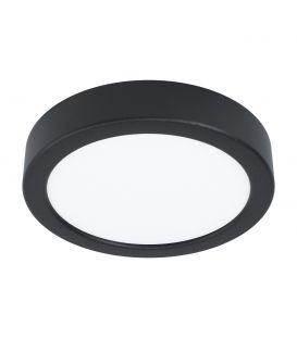 10.5W LED Virsmas LED panelis FUEVA 5 Black Ø16 3000K 99222
