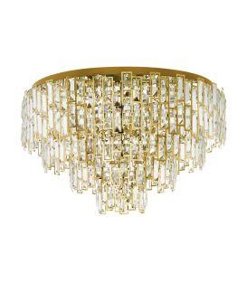 Griestu lampa CALMEILLES Ø63 Brass 39611