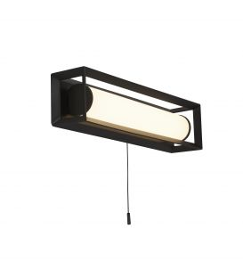 6.5W LED Sienas lampa CHAPLIN 74301-1BK