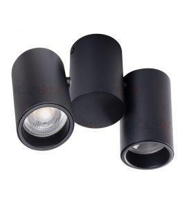 Griestu lampa BLURRO Black 32952