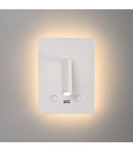 15W LED Sienas lampa MANAT White A35680B