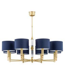 Piekarama lampa TAMARA Gold/Blue TAM-ZW-8(Z/A)