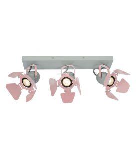 Griestu lampa PICTO 3 Pink 17997/03/66