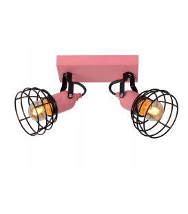 Griestu lampa PAULIEN 2 Pink 08927/02/66