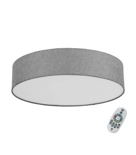 33W LED Griestu lampa EGLO CONNECT ROMAO-C Grey Ø57 98668
