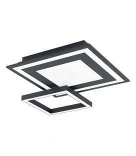 20W LED Griestu lampa EGLO CONNECT SAVATARILA-C Black 99312