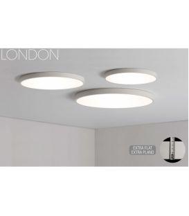 22W LED Lubinis šviestuvas LONDON White Ø40 3000K P376040B
