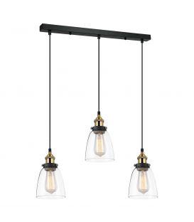 Piekarama lampa FRANCIS MDM-2563/3 GD+CL