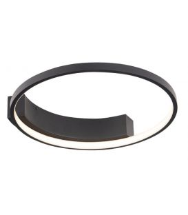 25W LED Griestu lampa VELVET Black Ø40 C0199