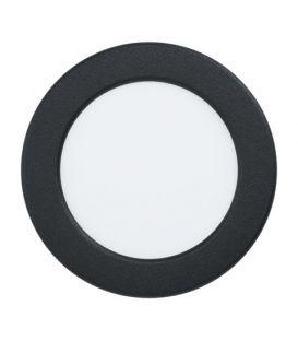 5.5W LED Lebūvējams panelis FUEVA 5 Black Ø11.7 4000K 99157
