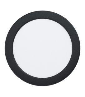 10.5W LED Lebūvējams panelis FUEVA 5 Black Ø16.6 4000K 99158