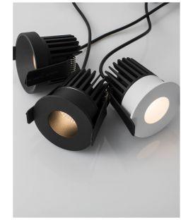 9W LED Įmontuojamas šviestuvas PETIT Black IP42 9844018