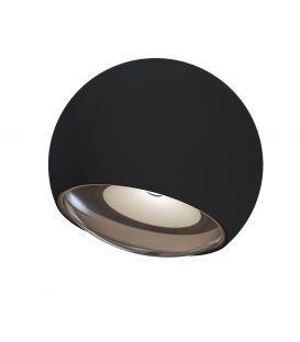 3W LED Sienas lampa STREAM Black IP54 O032WL-L3B3K