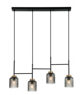 Piekarama lampa ZAC 4 Black 4247000