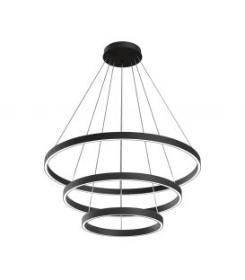 115W LED Piekarama lampa RIM Ø80 Black MOD058PL-L100B4K