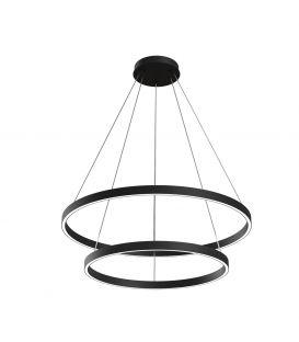 88W LED Piekarama lampa RIM Ø80 Black MOD058PL-L74B4K