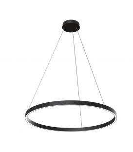 51W LED Piekarama lampa RIM Ø80 Black MOD058PL-L42B4K