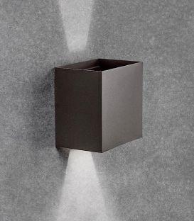 12W LED Sieninis šviestuvas DAVOS Dark Grey IP54 6520