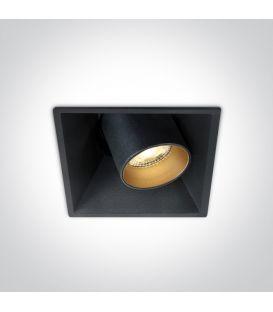 11W LED Iebūvējama lampa Black 51111C/B/W