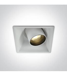 11W LED Iebūvējama lampa White 51111C/W/W