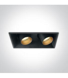 22W LED Iebūvējamā lampa Black 51211C/B/W