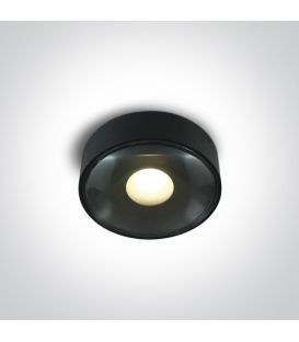 6W LED Griestu lampa IP65 Black 67484/B/W