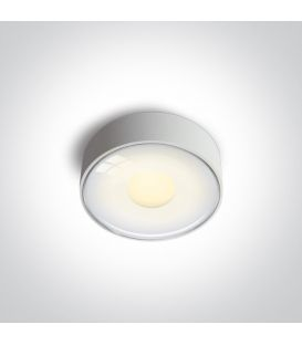 6W LED Griestu lampa IP65 White 67484/W/W