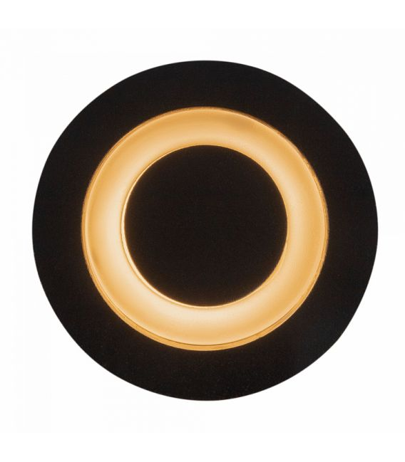 3W LED įmontuojamas šviestuvas LIMO Black IP65 O037-L3B3K