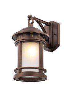 Sienas lampa SALAMANCA Brown IP44 O031WL-01BR
