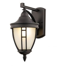 Sienas lampa RIVOLI Black IP44 O027WL-01BRIVOLI Black IP44 O027WL-01B