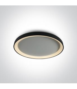 48W LED Griestu gaismeklis Black Ø58 62148L/B/W