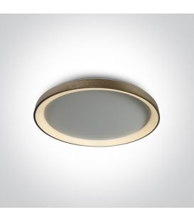 48W LED Griestu gaismeklis Brushed Brass Ø58 62148L/BBS/W