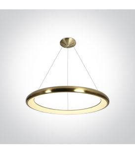 50W LED Piekarama lampa Brushed Brass Ø61 62144NB/BGL/W