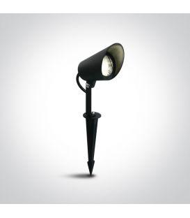8W LED Zemē iedurams dārza gaismeklis Black IP65 67458/B/W