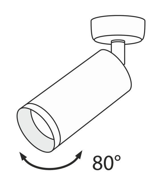 Lubinis šviestuvas FOCUS C018CL-01W