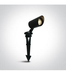 3W LED Iebūvēts ārējais apgaismojums Black IP67 67456/B/W